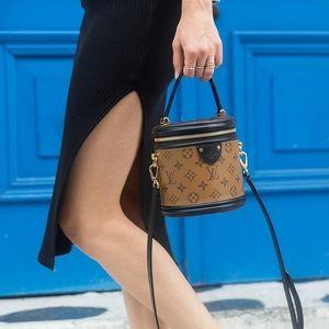 Louis Vuitton Cannes Reverse Monogram Bucket Bag